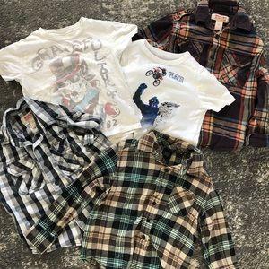 Boys Shirts Size 4/5